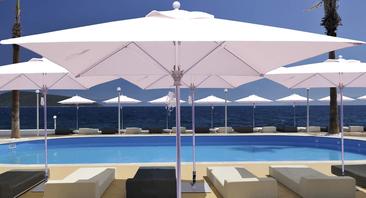 Galtech International Market Umbrellas And Stands